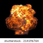 Explosion In Dark