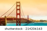 san francisco bridge | Shutterstock . vector #214206163