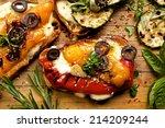 Bruschetta With Grilled Bell...