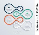 abstract 3d digital... | Shutterstock .eps vector #214209544