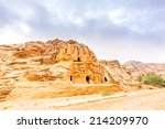 obelisk tombs in the ancient... | Shutterstock . vector #214209970