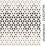 vector seamless pattern. modern ... | Shutterstock .eps vector #214219744