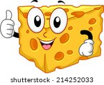 mascot illustration featuring a ... | Shutterstock .eps vector #214252033