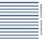 seamless pattern with nautical... | Shutterstock . vector #214264804