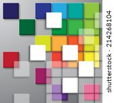 square color background | Shutterstock .eps vector #214268104