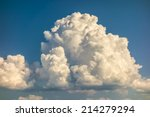 A Big And Fluffy Cumulonimbus...