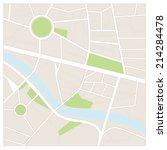 street maps | Shutterstock .eps vector #214284478