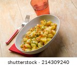 Potatoes Salad With Tomatoes...
