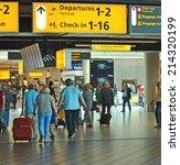 amsterdam schiphol  the...   Shutterstock . vector #214320199