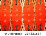 beautiful batik patterns | Shutterstock . vector #214321684