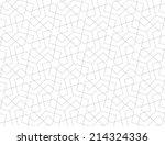 geometric arabic seamless... | Shutterstock .eps vector #214324336