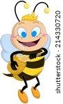 vector illustration of a cute... | Shutterstock .eps vector #214330720
