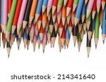graphite pencils | Shutterstock . vector #214341640
