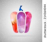 abstract creative concept... | Shutterstock .eps vector #214364044