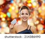 shopping  luxury  winter... | Shutterstock . vector #214386490