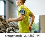 sport  fitness  lifestyle ... | Shutterstock . vector #214387444