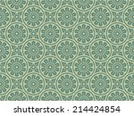 seamlessly floral pattern  | Shutterstock .eps vector #214424854