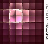 fantastic geometric abstract... | Shutterstock . vector #214436740