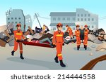 a vector illustration of rescue ... | Shutterstock .eps vector #214444558