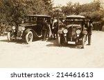 istanbul  turkey   circa 1900's ... | Shutterstock . vector #214461613