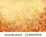 Leaves Autumn Background...