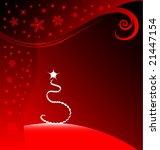 vector stylish christmas... | Shutterstock .eps vector #21447154