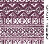 ethnic ornamental textile... | Shutterstock .eps vector #214490848