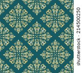 oriental vector pattern with... | Shutterstock .eps vector #214500250