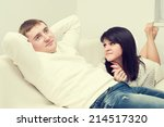 man and woman | Shutterstock . vector #214517320