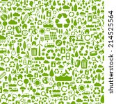 green eco background made of... | Shutterstock .eps vector #214525564