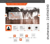 flat business website template...