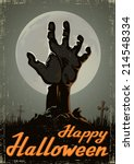 halloween background | Shutterstock .eps vector #214548334