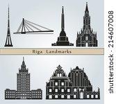 riga landmarks and monuments...