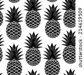 Vintage Pineapple Seamless For...