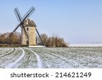 Traditional French Windmill...