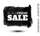 black friday sale abstract... | Shutterstock .eps vector #214643728