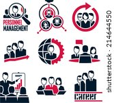 people icon. business people.... | Shutterstock .eps vector #214644550