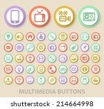 set of universal standard... | Shutterstock .eps vector #214664998