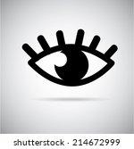 medical design over gray... | Shutterstock .eps vector #214672999