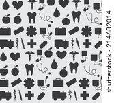 medical design over white ... | Shutterstock .eps vector #214682014