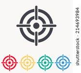 target icon | Shutterstock .eps vector #214693984
