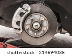 Brake Disk And Detail Of The...