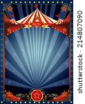 fun night circus poster. a... | Shutterstock .eps vector #214807090