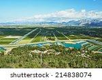 agricultural fields in croatia | Shutterstock . vector #214838074