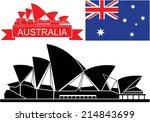 Australia Flag. Isolated...