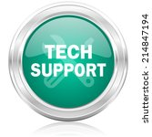 technical support internet icon | Shutterstock . vector #214847194