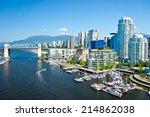 Stock photo beautiful view of vancouver british columbia canada 214862038