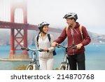Biking Golden Gate Bridge  ...