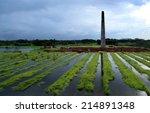bangladeshi eco friendly... | Shutterstock . vector #214891348