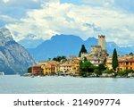Malcesine On Garda Lake  Italy